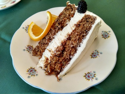 The Cotswold carrot cake
