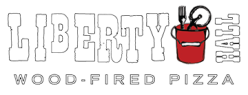 liberty hall pizza logo
