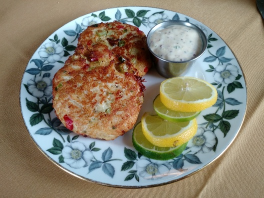 Crab cakes the way they were meant to be - all crab