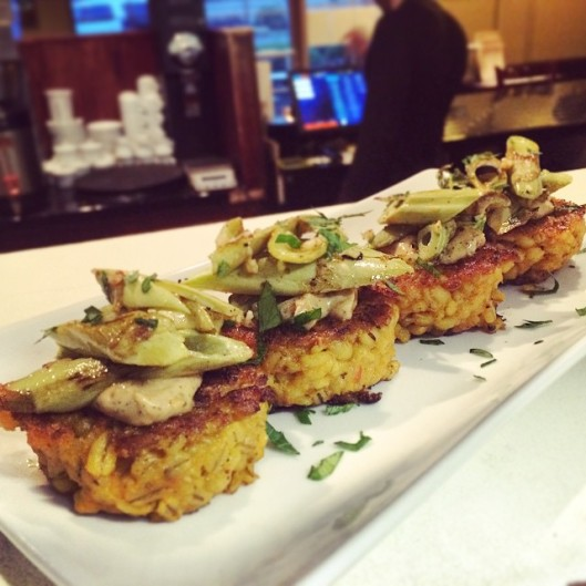 Beautiful Risotto Cakes